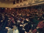 A sold-out crowd at the Shanghai Dramatic Arts Center